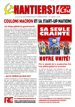 CHANTIERS ACTU n°8 - Coulons Macron et sa start-up Nation!