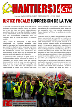 CHANTIERS ACTU n°12 - Justice fiscale! Suppression de la TVA!